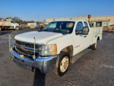 2009 CHEVROLET 3500HD 4x4 RAILROAD SERVICE TRUCK