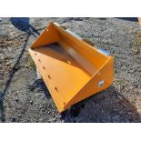 "(1) 72"" SEVERE SKID STEER BUCKET"