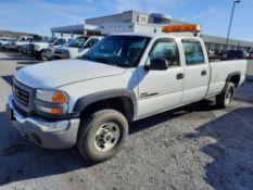 2005 GMC SIERRA 2500 CREW CAB