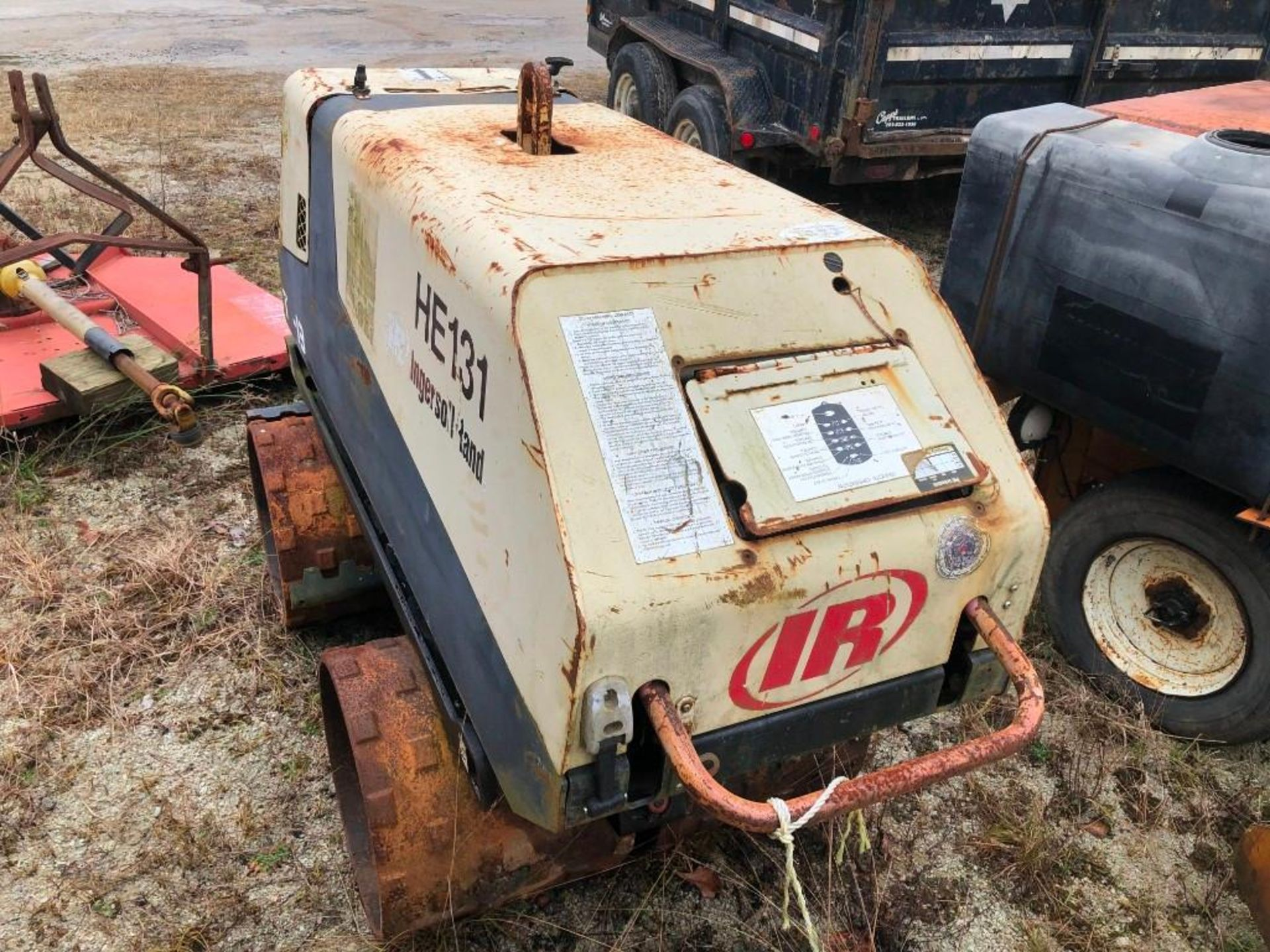 INGERSOL RAND TC-13 TRENCH COMPACTOR - Image 3 of 4