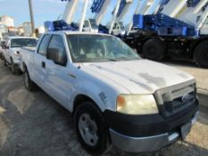 2005 FORD F150 EXTENDED CAB PICK UP TRUCK