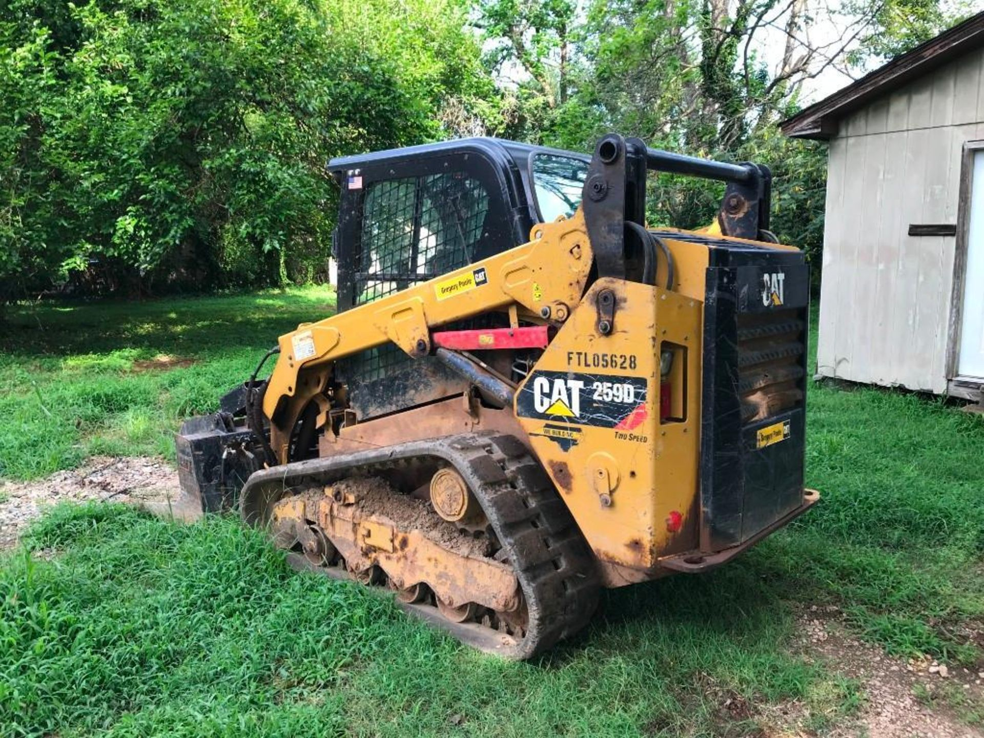 2016 CATERPILLAR 259D TWO SPEED TRACKED SKID STEER LOADER - Image 4 of 4
