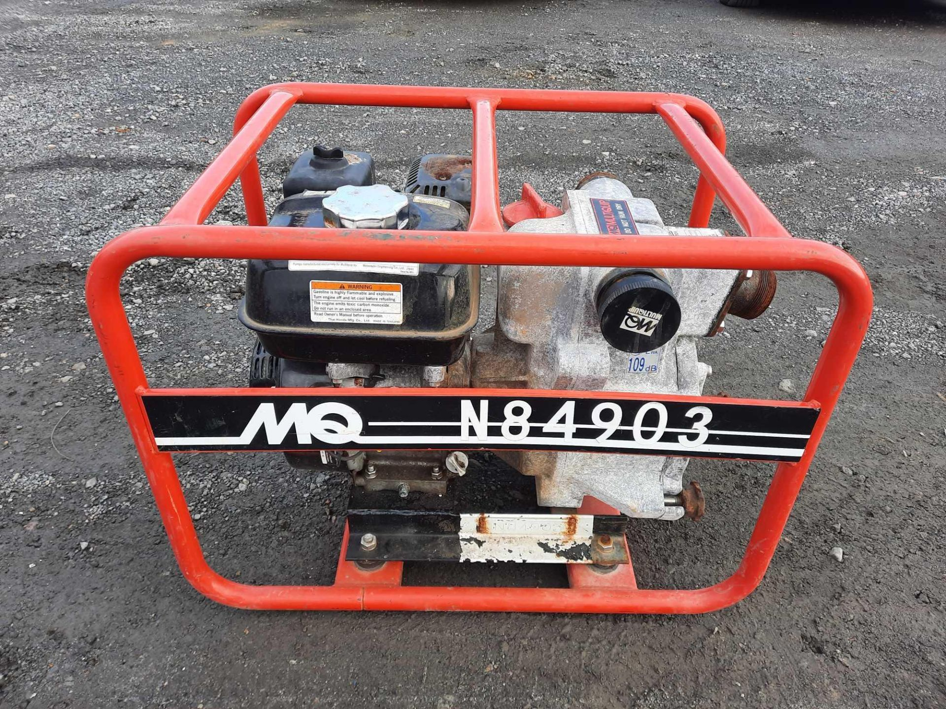 2013 MULTIQUIP QP2TH PUMP (VDOT UNIT #: N84903)