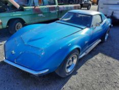 1969 CHEVROLET CORVETTE STINGRAY (INOPERABLE)