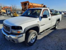 2003 GMC SIERRA 2500HD PICK UP TRUCK (INOPERABLE)