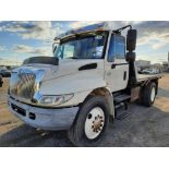 2006 INTERNATIONAL 4300 10' FLATBED TRUCK