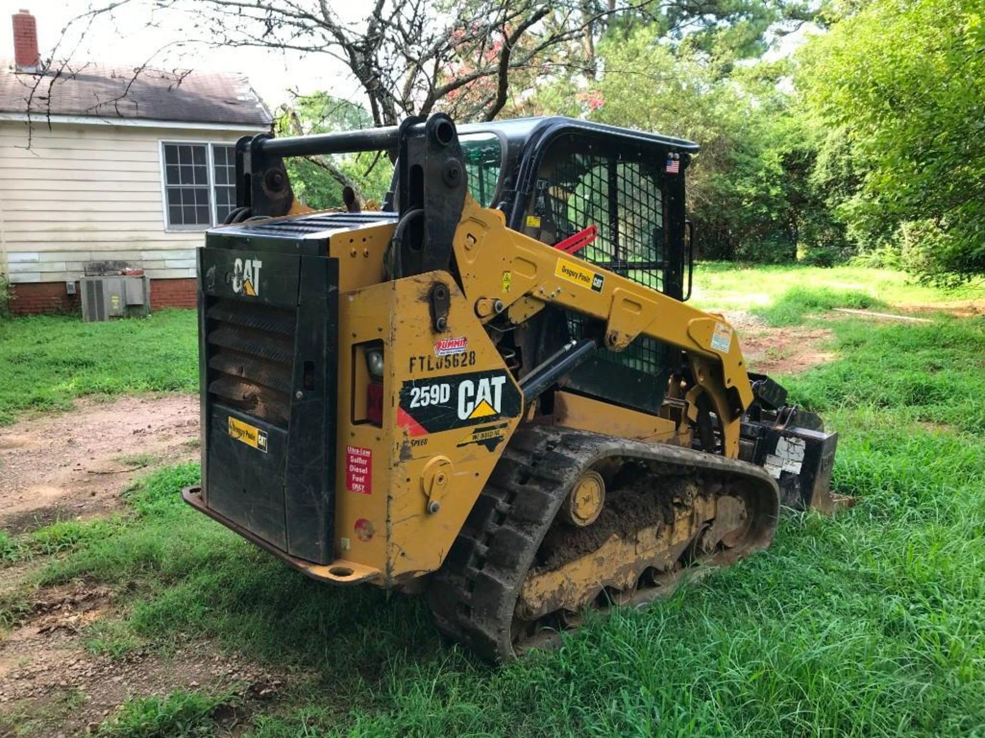 2016 CATERPILLAR 259D TWO SPEED TRACKED SKID STEER LOADER - Image 2 of 4