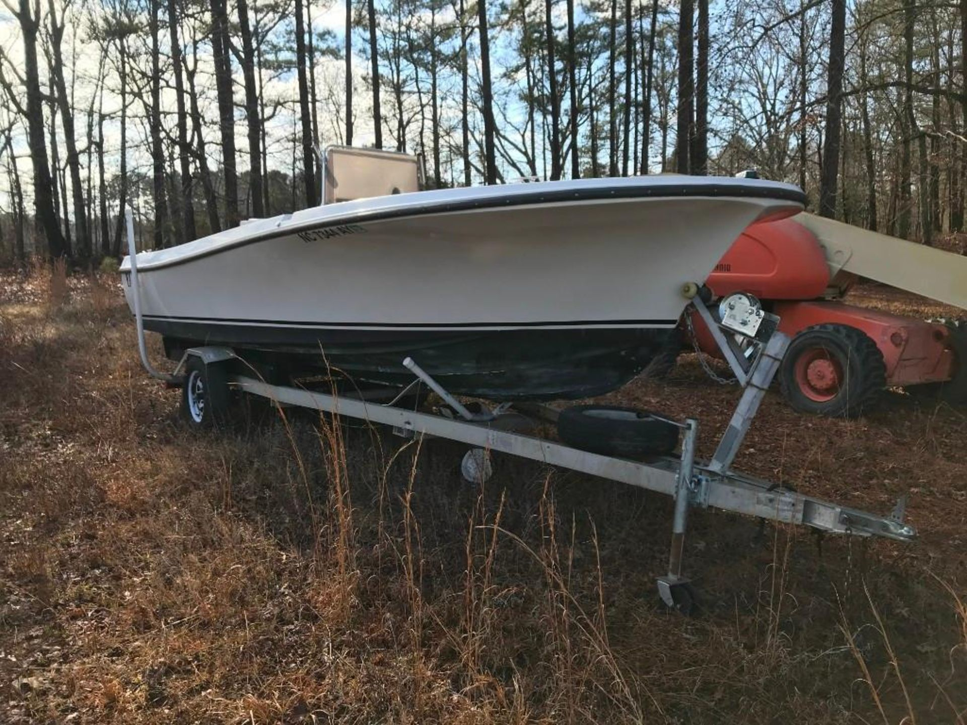 1972 WELLCRAFT F20 BOAT HULL - Image 2 of 8