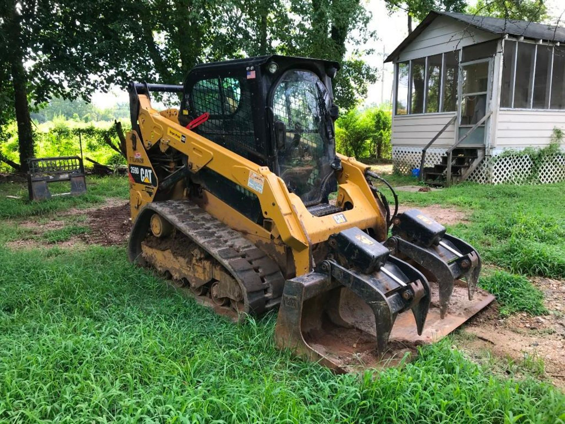 2016 CATERPILLAR 259D TWO SPEED TRACKED SKID STEER LOADER