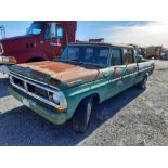 1972 FORD CREW CAB 350 PICK UP TRUCK (INOPERABLE)