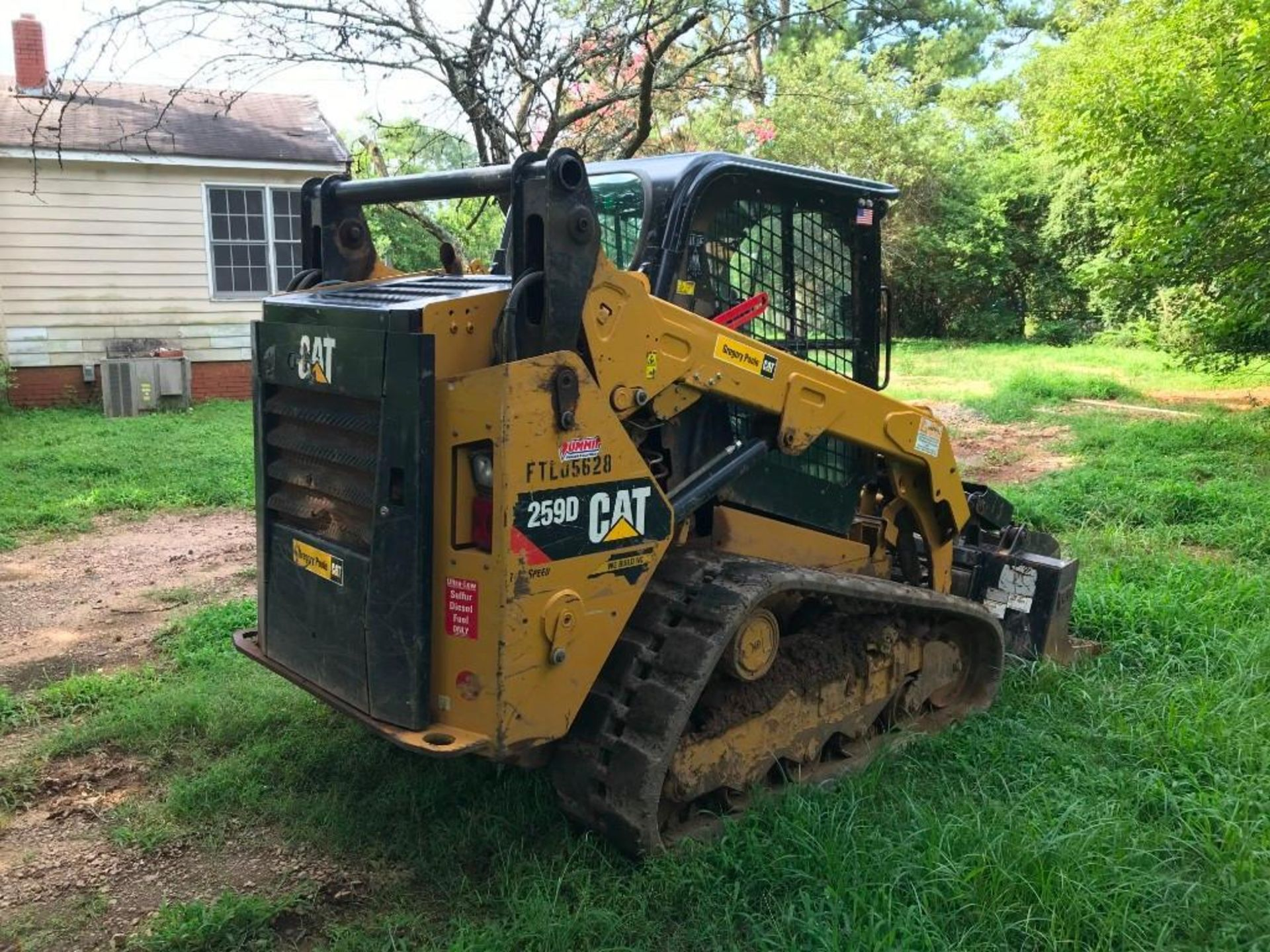 2016 CATERPILLAR 259D TWO SPEED TRACKED SKID STEER LOADER - Image 3 of 4
