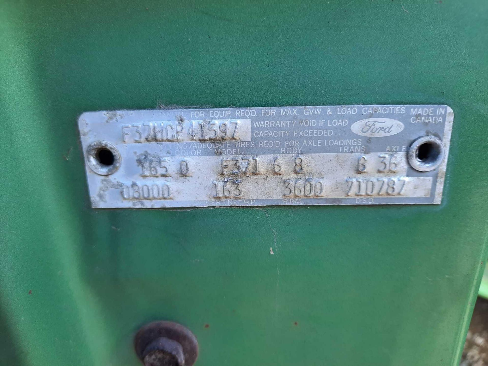 1972 FORD CREW CAB 350 PICK UP TRUCK (INOPERABLE) - Image 15 of 15