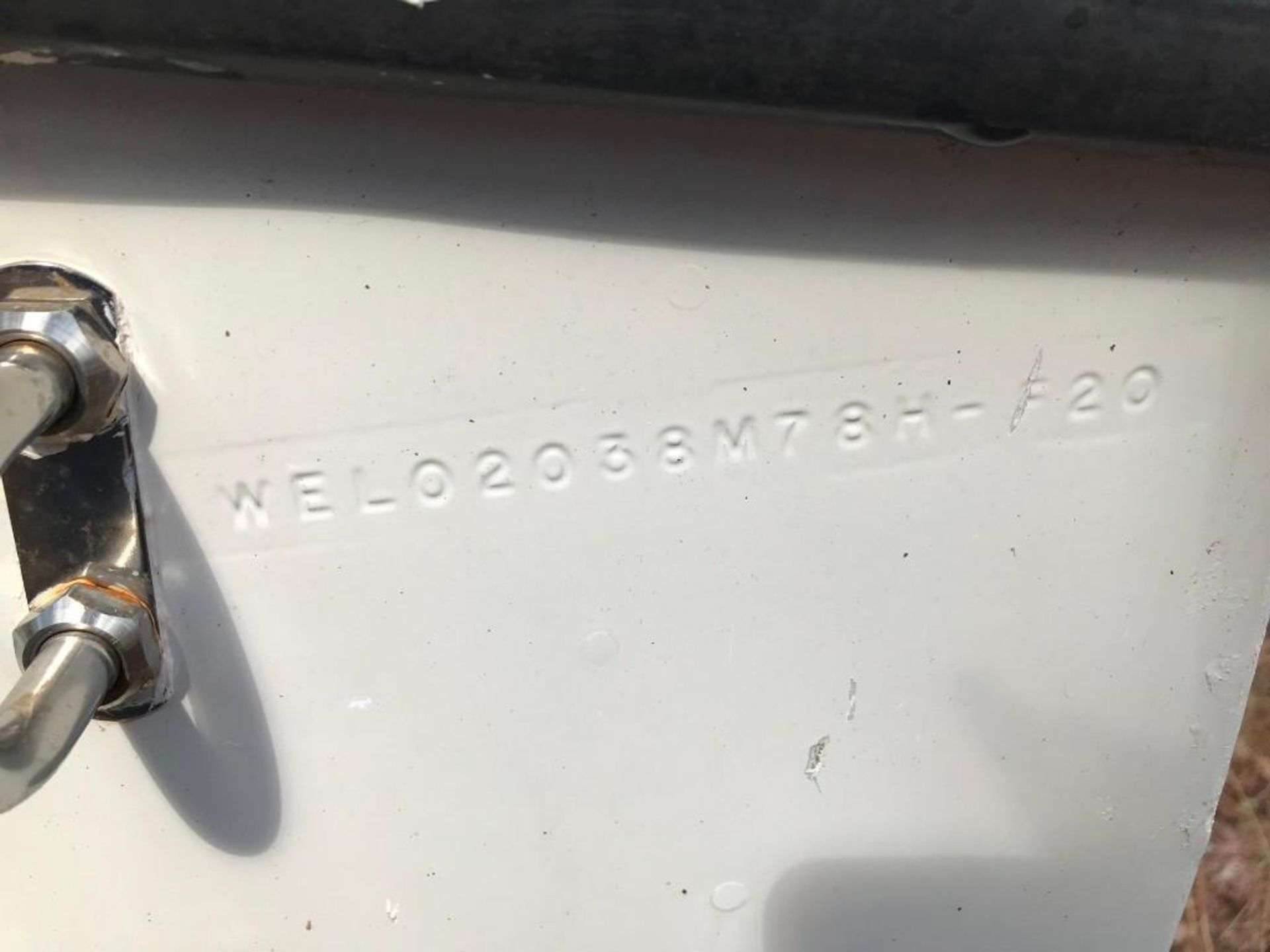 1972 WELLCRAFT F20 BOAT HULL - Image 4 of 8