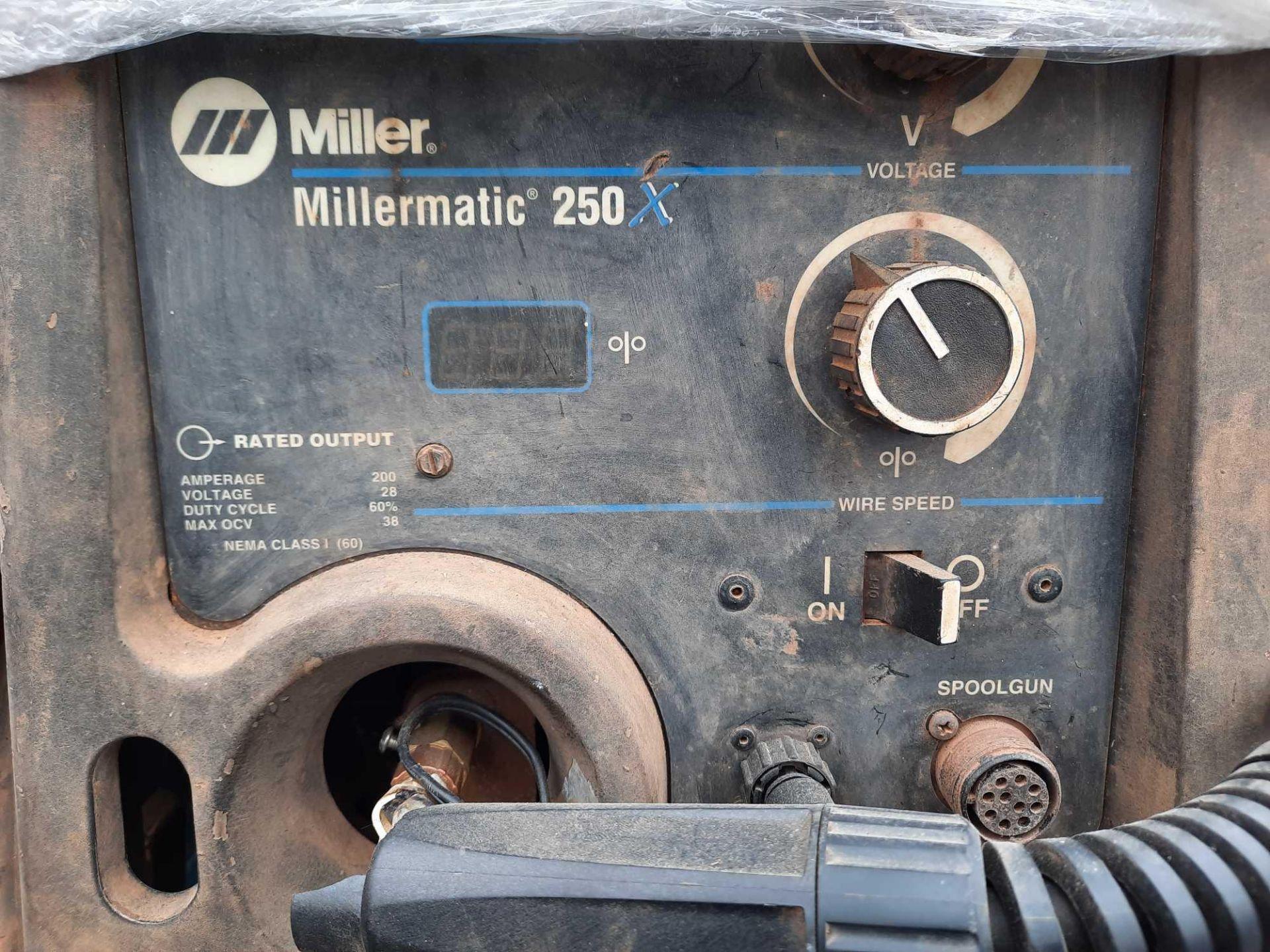 MILLER WELDER MILLERMATIC 250 SERIERS - Image 6 of 7