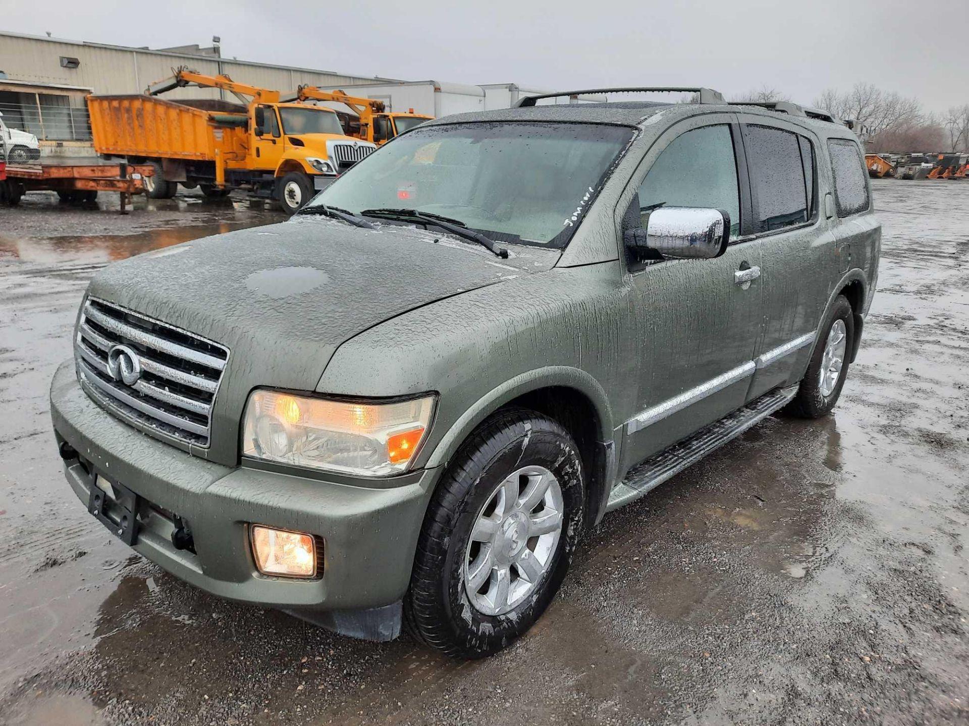 2004 INFINITI QX56 4X4 SUV