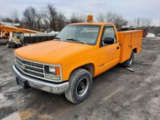 1993 CHEVROLET 2500 UTIL BODY TRUCK (VDOT UNIT #: R67610)