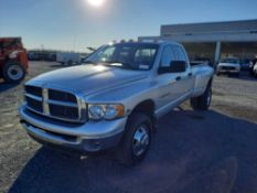 2003 DODGE RAM 3500 4X4 CREW CAB DUALLY PICK UP TRUCK