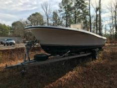 1972 WELLCRAFT F20 BOAT HULL