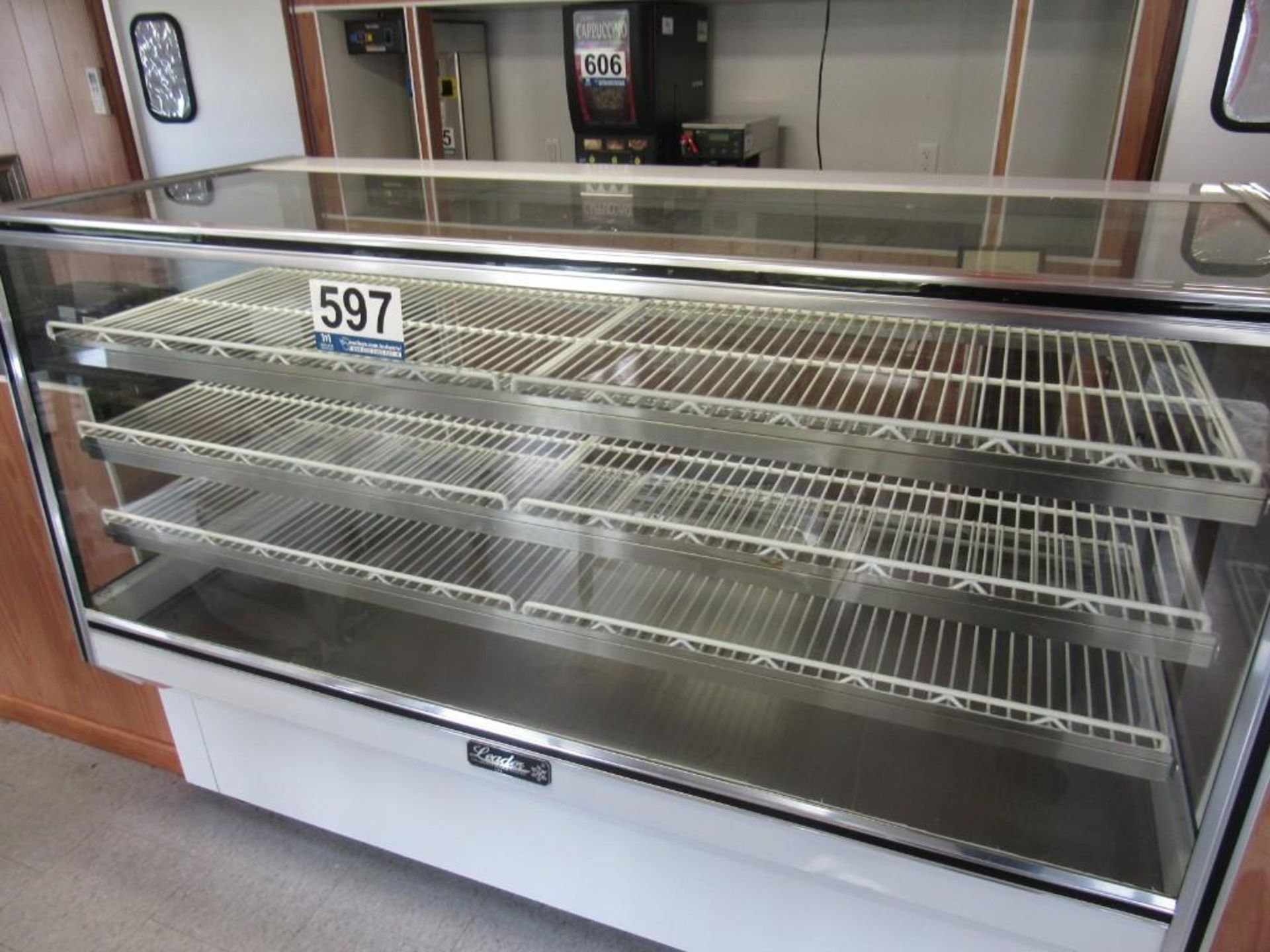 2018 LEADER MANUFACTURING DISPLAY CABINET - Image 3 of 4