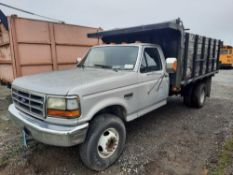 1992 FORD F550 STAKE BODY (VDOT UNIT: 20-10-0041)