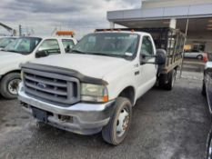 2004 FORD F-450 STAKE BODY TRUCK