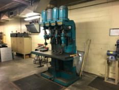 LELAND-GIFFORD 4-SPINDLE INDUSTRIAL DRILLING MACHINE