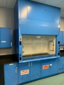 AMS Air Master System Fume Hood and Cabinets