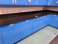Cabinets with Drawers and Countertops