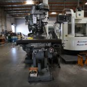 TREE MODEL 2UVR MILLING MACHINE, REBUILT 1975, S/N 1008, WITH TRAK DRO *PLEASE NOTE: ISSUE WITH X