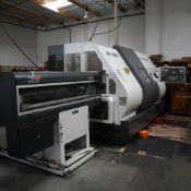 2006 NAKAMURA WT300MMYS CNC LATHE, S/N M300701, TWIN SPINDLE, UPPER AND LOWER TURRETS, Y-AXIS