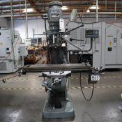 BRIDGEPORT SERIES 1 MILLING MACHINING, S/N J267469, WITH NEWALL DRO MODEL M20-M