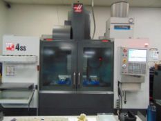 "2014 HAAS VF-4SS, 30"" X 16"" X 20"" TRAVELS, 12,000 RPM, USB PORT, BT-40 24 SIDE MOUNT TOOL CHANGER"