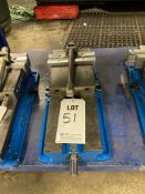 KURT D688 ANGLOCK MACHINE VISE, WITH CRANK