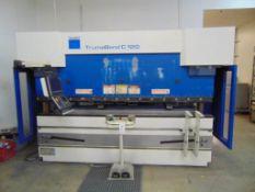 "2006 TRUMPF TRUMABEND C120 HYDRAULIC PRESS BRAKE, S/N B0204A0031, 120 TON, 4-AXIS, 122"" OVERALL"