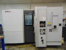 "2013 DMG MORI NHX4000 22"" X 22"" X 26"",(2)15.7"" X 15.7"" PALLETS,FULL 4TH AXIS,COOLANT SPINDLE COOLJET"