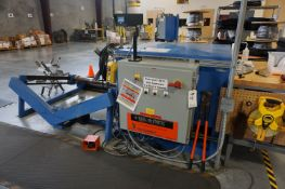 LOT TO INCLUDE: (1) REEL-O-MATIC WIRE CABLE SPOOLING MACHINE MODEL RD5, S/N 2-9124-C18, CAPACITY 550