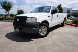 LOW MILES! 2007 FORD F150 REGULAR CAB 2WD AUTOMATIC, VIN 1FTPF12V77KC70109, 62,400 MILES