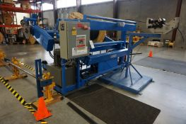 REELPOWER REEL COILING MACHINE, MODEL HJ8-015, S/N 62476-1-1, CAPACITY 8,000, WITH VARIED SIZE