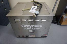 GRAYMILLS ULTRASONIC CLEANER MODEL BT 130SE S/N 00513132
