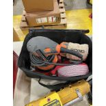 RIDGID 5'' DISC SANDER W/ CASE AND EXTRA DISKS
