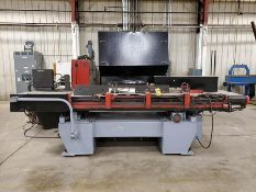 WEIDEMAN CNC ROTARY PLASMA CUTTER/TURRET PUNCH MACHINE, HYPERTHERM HT2000 PLASMA POWER SOURCE, FANUC