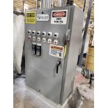 ELECTRIC CONTROL PANEL, SHUT OFF SWITCHES AND CONDUIT WIRE (STOP AT JUNCTION BOXES)