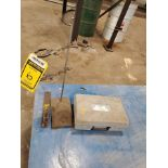 MARKSON DIGITAL PH METER, MODEL 88 - CLAMP STAND - ARBOR CLAMP ON BAR HOLD DOWN