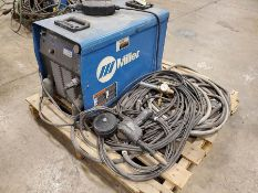 MILLER INVISION 456P DC INVERTER ARC WELDER WITH HOSE AND HEAD