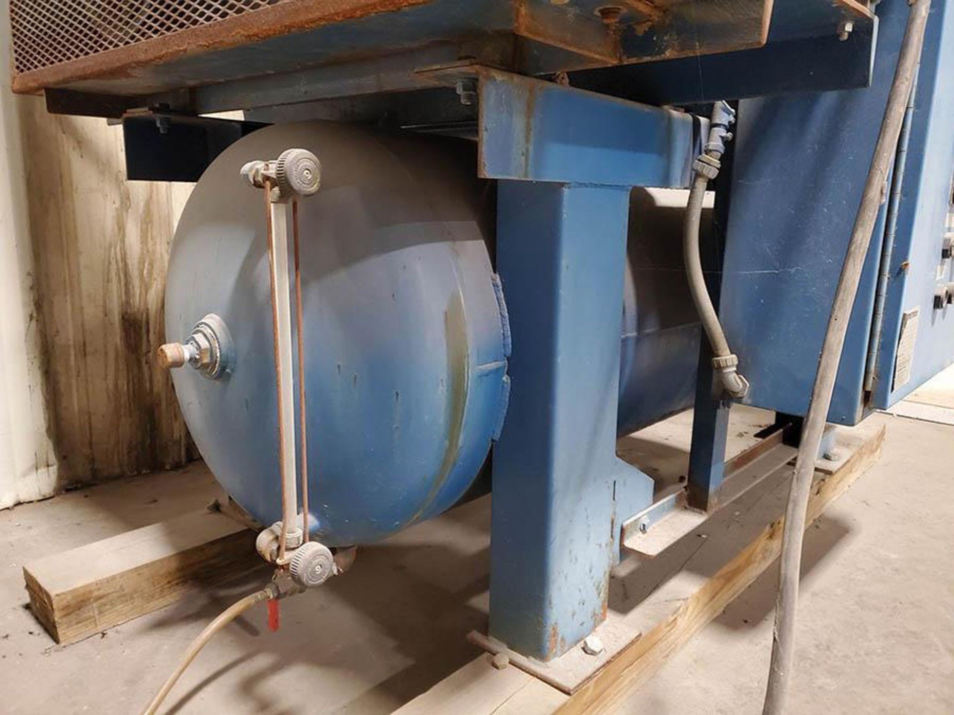 CHEMETRON MEDICAL AIR COMPRESSOR, MODEL 2KT40-10, 10 HP, 6 CYLINDER - Image 7 of 8