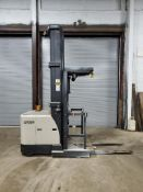 2012 CROWN 3500 SERIES STOCK ORDER PICKER, MODEL SP3520-30, 3,000 LB. CAPACITY, 24V, 131 1/2'' 3 STA