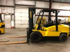 2006 HYSTER 12,000-LB. CAPACITY FORKLIFT, MODEL: H120FT, S/N: L005V08891D, LPG, PNEUMATIC TIRES, LEV