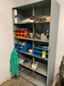 SHELF AND CONTENTS OF ASSORTED WELDING ROD AND FILLER, REPLACEMENT CONSUMABLES