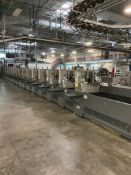 (29) HEIDELBERG BUCKET INSERTER WITH CONTROL PANEL AND KEYTRONIC LIFETIME SERIES CONTROL MODULE