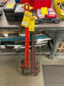 (2) 48'' RIDGID PIPE WRENCHES